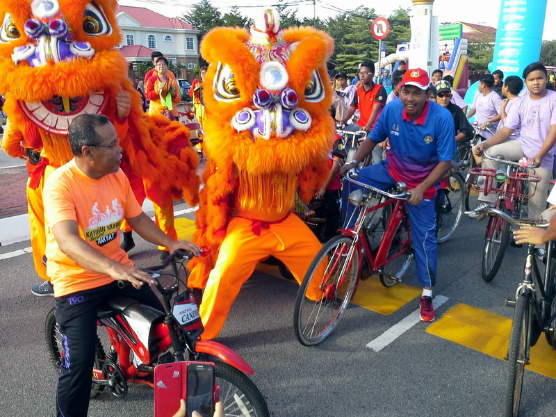 1. Ipoh Car-Free Day Chinese New Year Edition