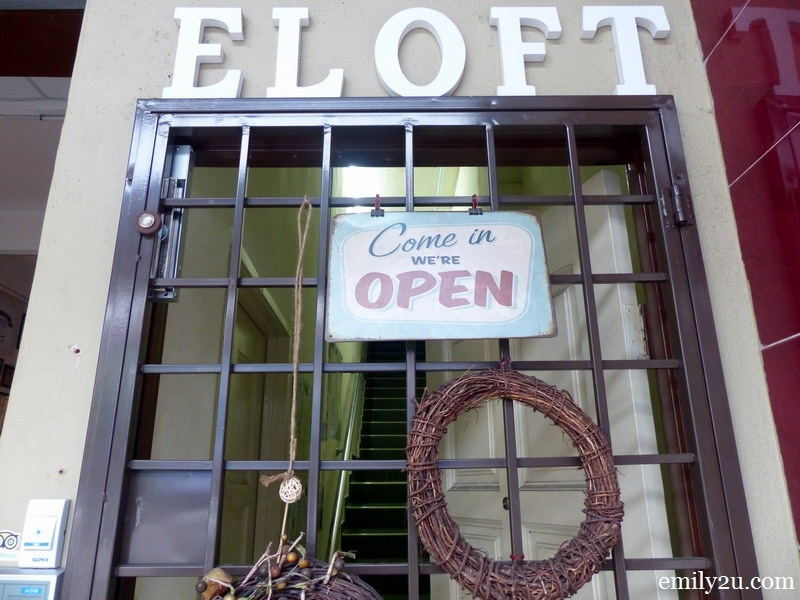 15. entrance to Eloft Hostel