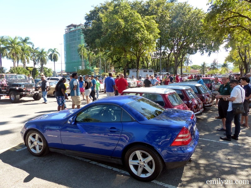 15. the largest gathering of classic and vintage cars in Ipoh since 1995