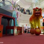 2 northern lion dance