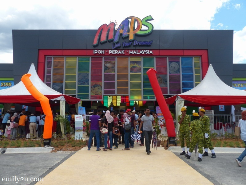 5.  Movie Animation Park Studios (MAPS) - Asia's first animation theme park