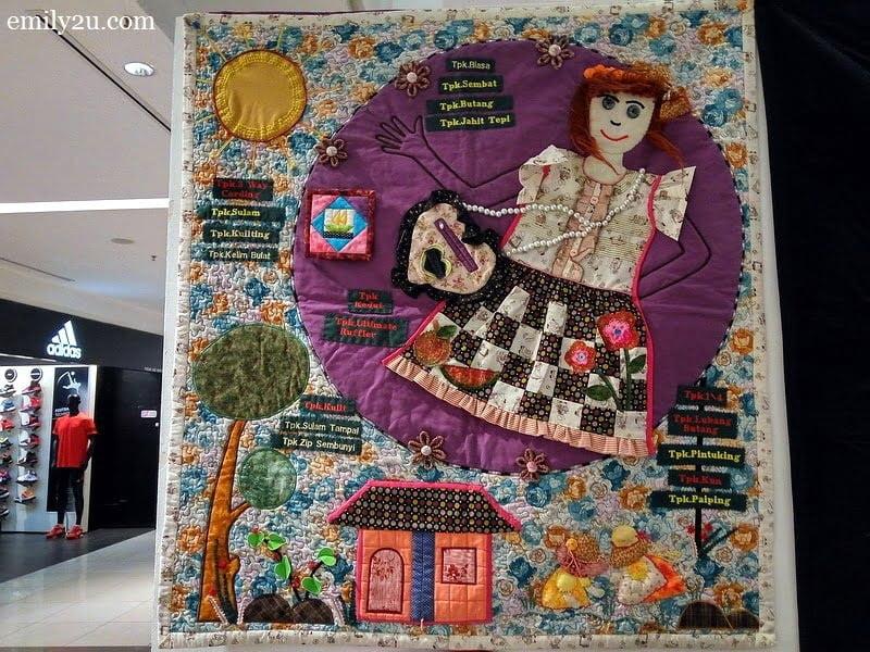 7. fabric art