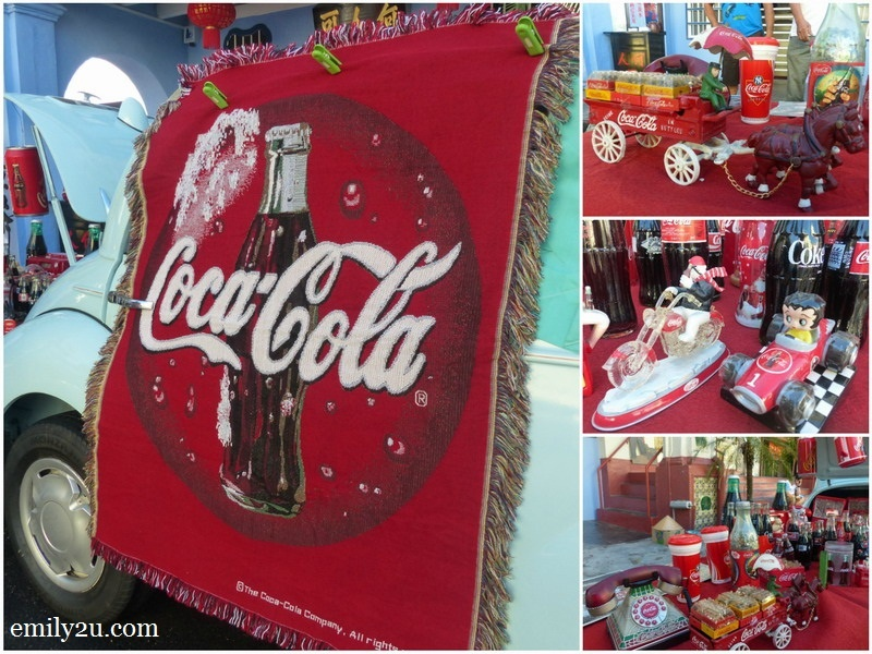 4. Coco-Cola collection by a club member for charity snap