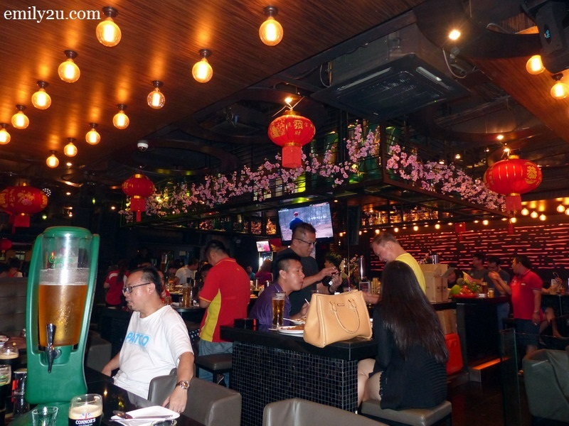 8. Chinese New Year ambience