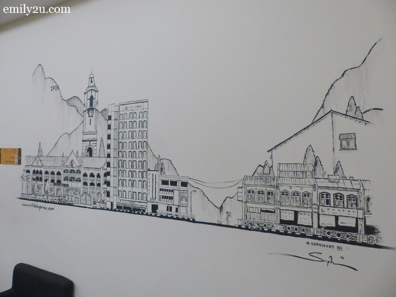 10. wall mural on the 7th floor