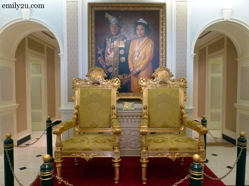 2. gold royal chairs