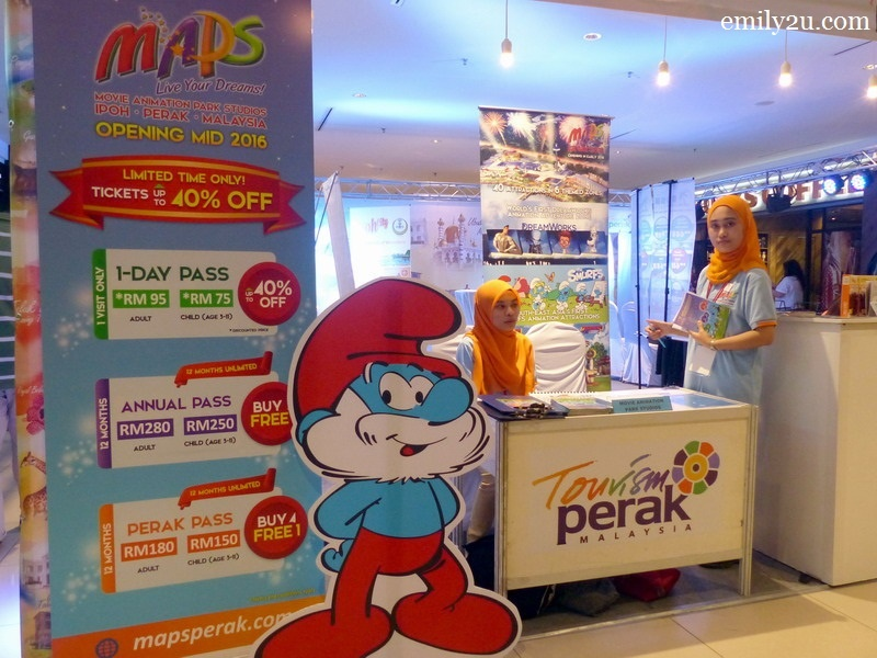 2. the booth of Movie Animation Park Studios