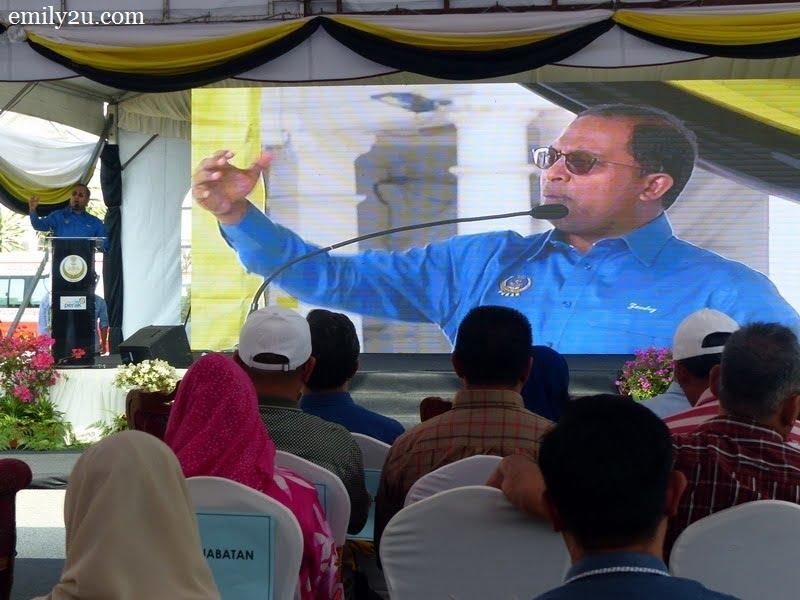 2. Dato' Seri DiRaja Dr. Zambry bin Abd. Kadir in his speech