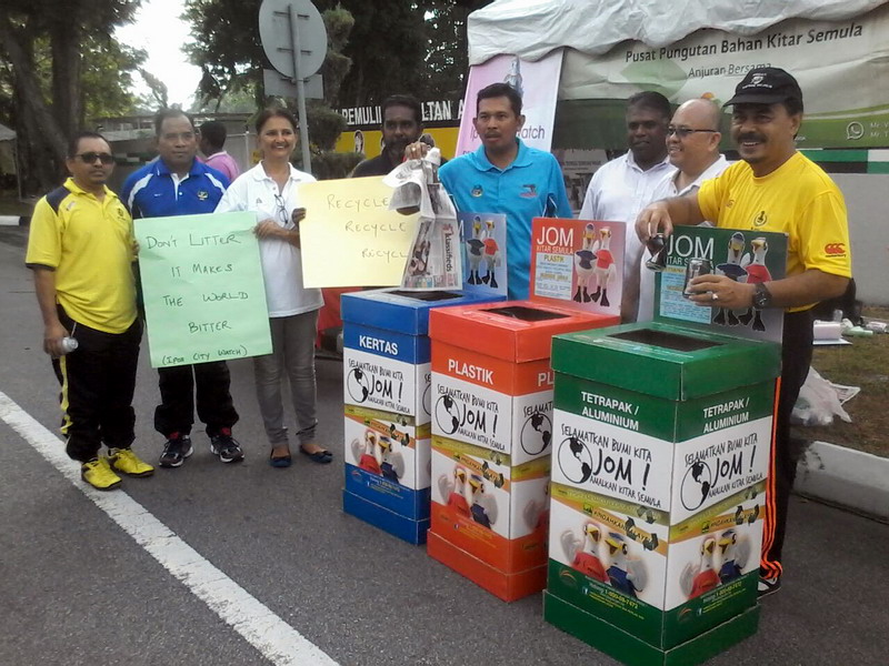 3. Ipoh City Watch promotes recycling