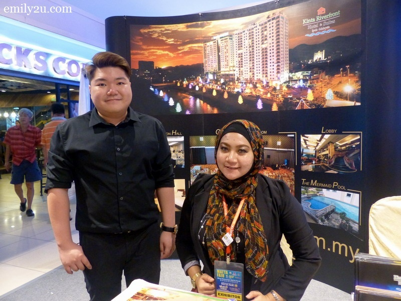 4. sales staff of Kinta Riverfront Hotel & Suites, Ipoh