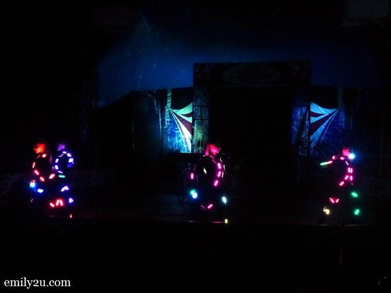4. LED dancers