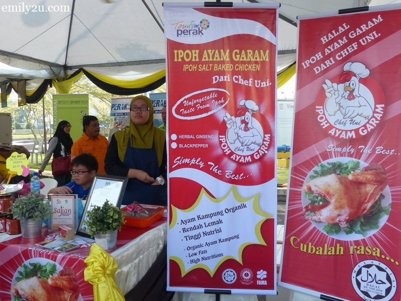 8. halal Ipoh salted chicken