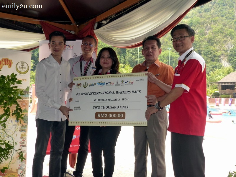 9. MH Hotel Ipoh sponsors RM2,000