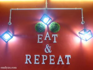 1. Eat & Repeat Café, Shah Alam