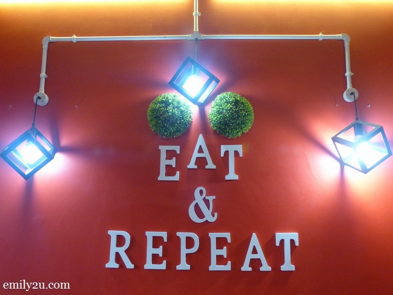 1. Eat & Repeat Café, Shah Alam