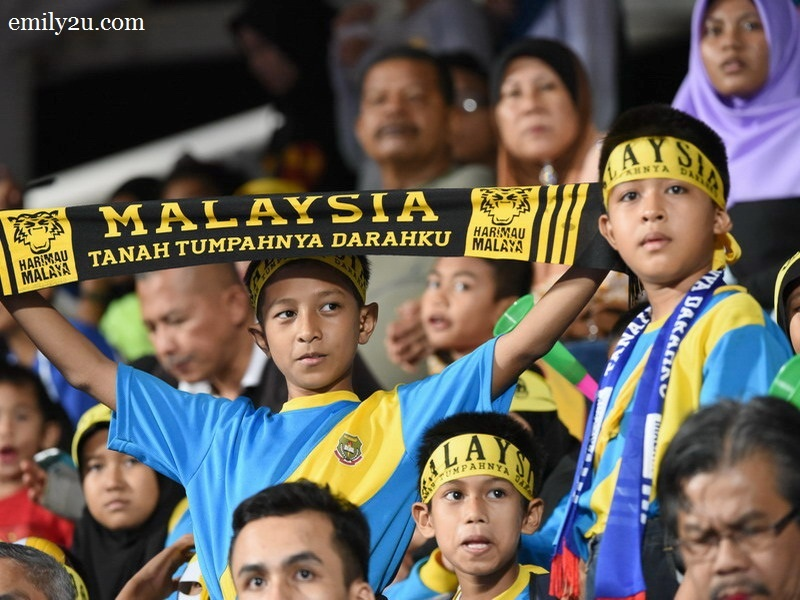 1. young Malaysian fans