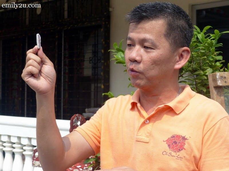 1. Leonard Oh is third-generation owner of Swee Len Food Industries in Batang Kali, Selangor.