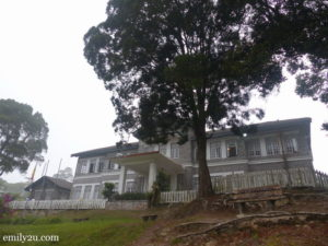 1. the rambling colonial building that is now Rumah Sri Berkat atop Fraser's Hill
