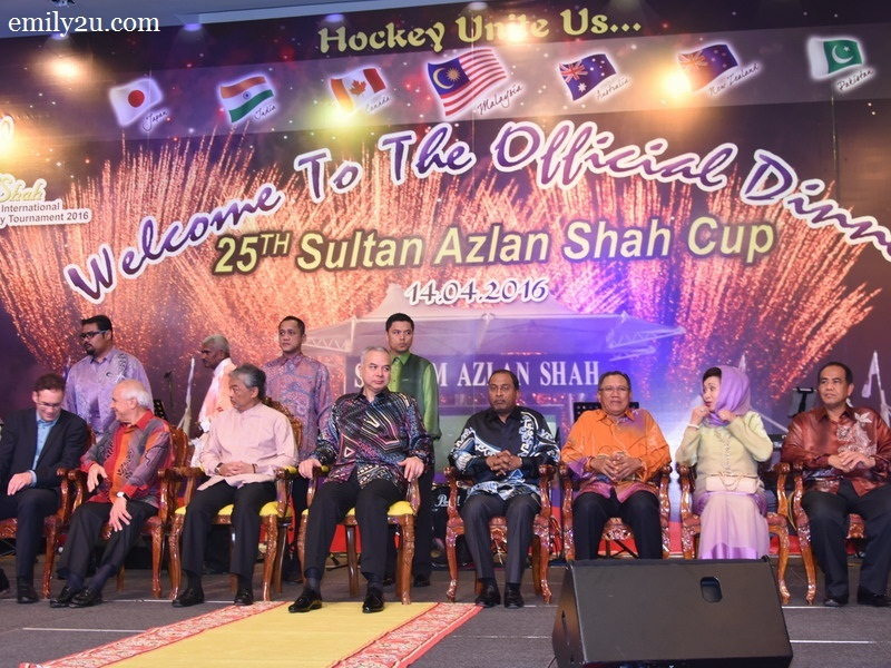 1. 25th Sultan Azlan Shah Cup Official Dinner