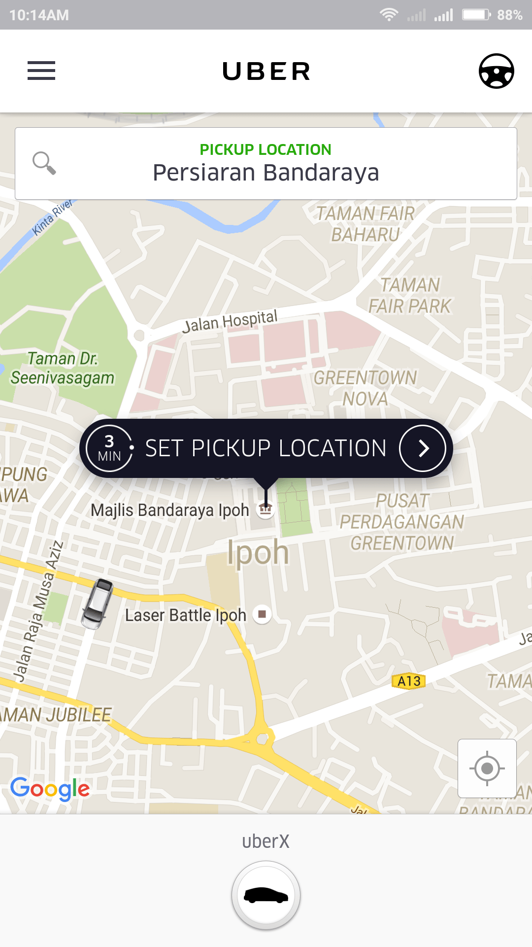 Uber Ipoh