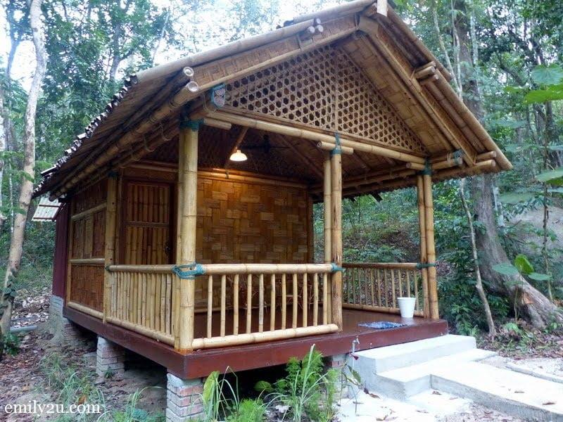 11. bamboo hut