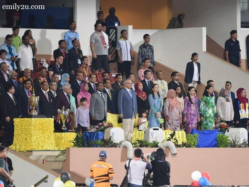 2. royal spectators
