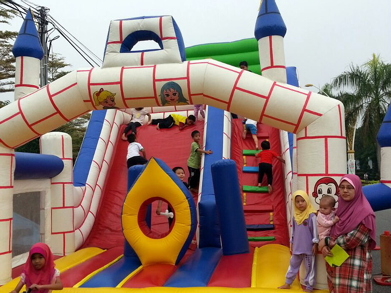 3. inflatable playground