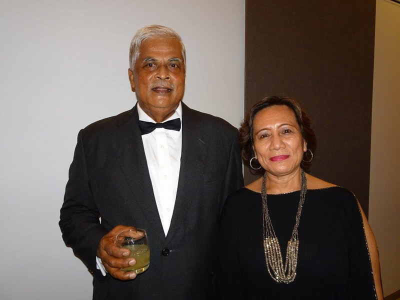 4. Lt. Col. (Rtd.) Fathol Zaman Bukhari and his wife, Pn. Halida Mohd. Ali