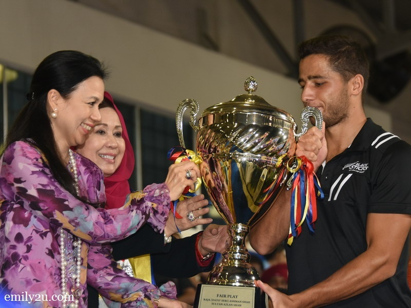 5. Fair Play Award (Piala Raja Ashman Shah) - New Zealand