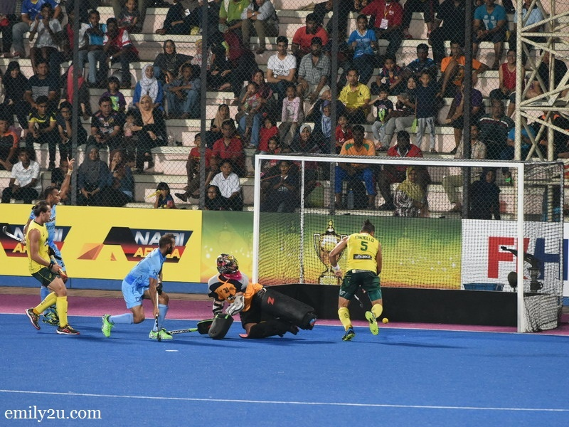 5. a goal for the Kookaburras