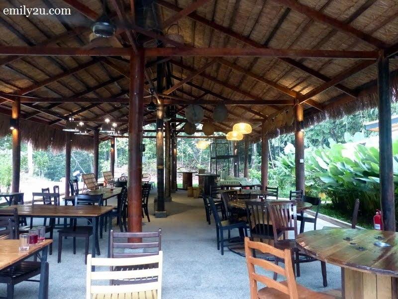 6. dining area