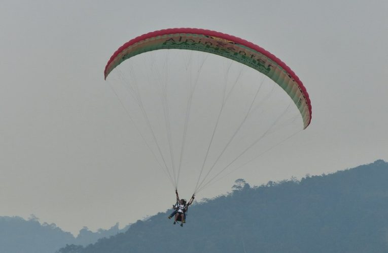 Paragliding in Kuala Kubu Bharu, Selangor