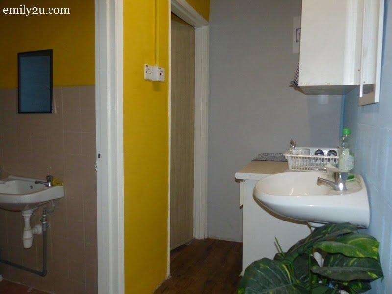 8. wash basin and two units of washrooms