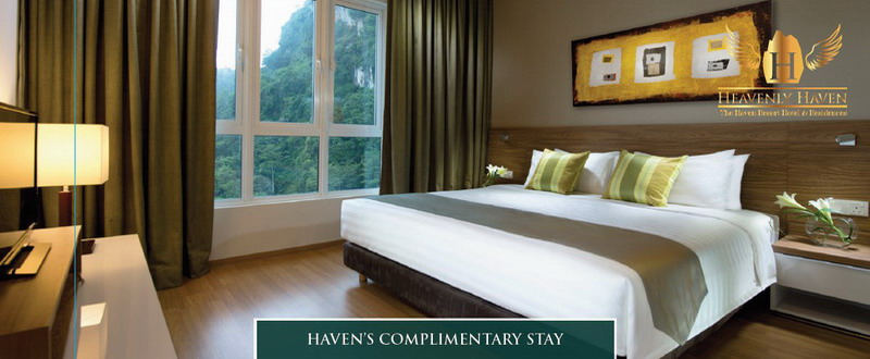1. The Haven complimentary stay