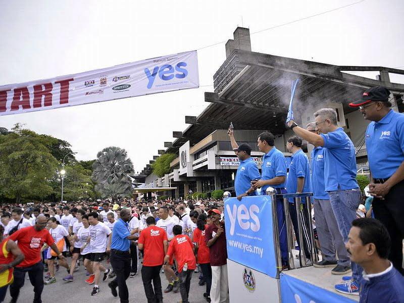 1. flag off by Perak Menteri Besar YAB Dato' Seri Diraja Dr Zambry Abd Kadir