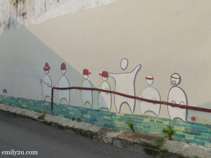 10. What's the story behind this mural?