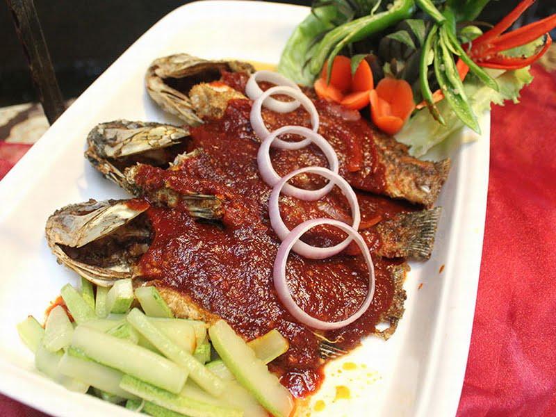 3. Ikan Talapia Masak Taucu