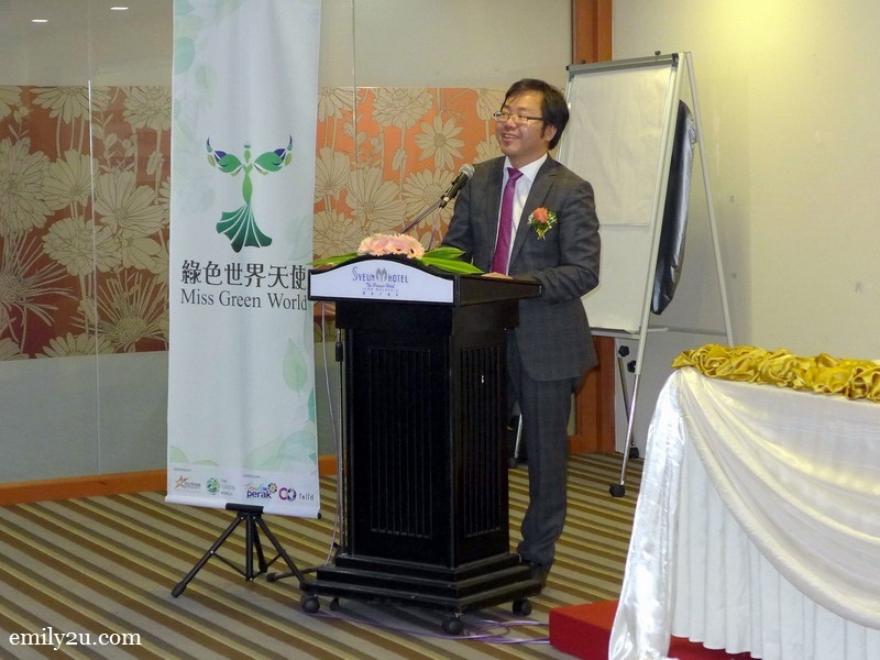 3. Dato' Jeff Choong, President of The Green World, a non-governmental organisation