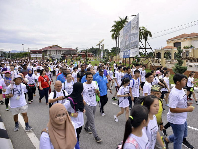 3. this year's Ipoh Starwalk takes a different route