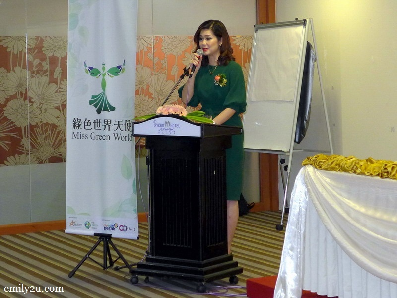 4. Ms. Anita Phang, Founder of Miss Green World