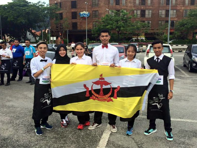 5. participants from Brunei