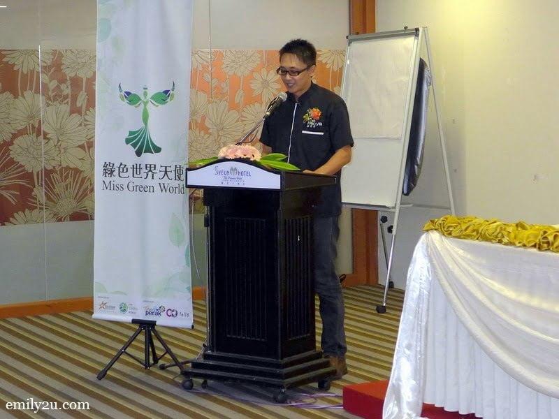 5. Mr. David Lim, Organising Chairman of The Green World Run 2016