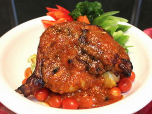 Roasted Chicken Percik Sauce