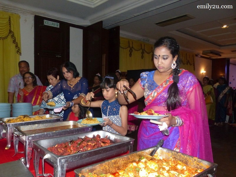 7. a scrumptious buffet dinner
