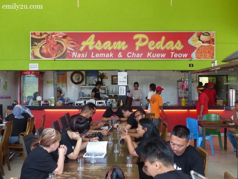 8. Asam Pedas Udang Galah, Dataran Kuala Kubu Bharu