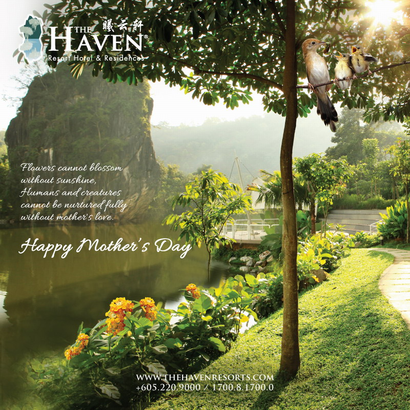 The Haven wishes all mothers Happy Mother's Day