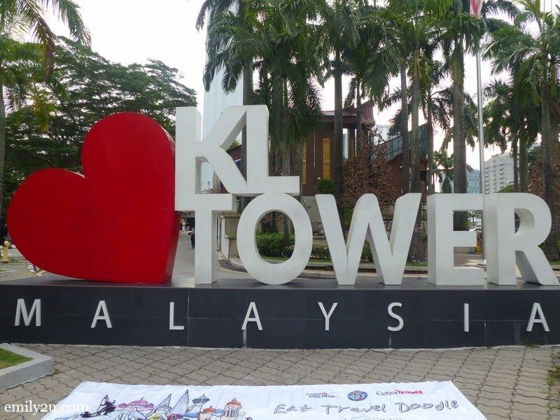 1. Menara Kuala Lumpur (KL Tower)