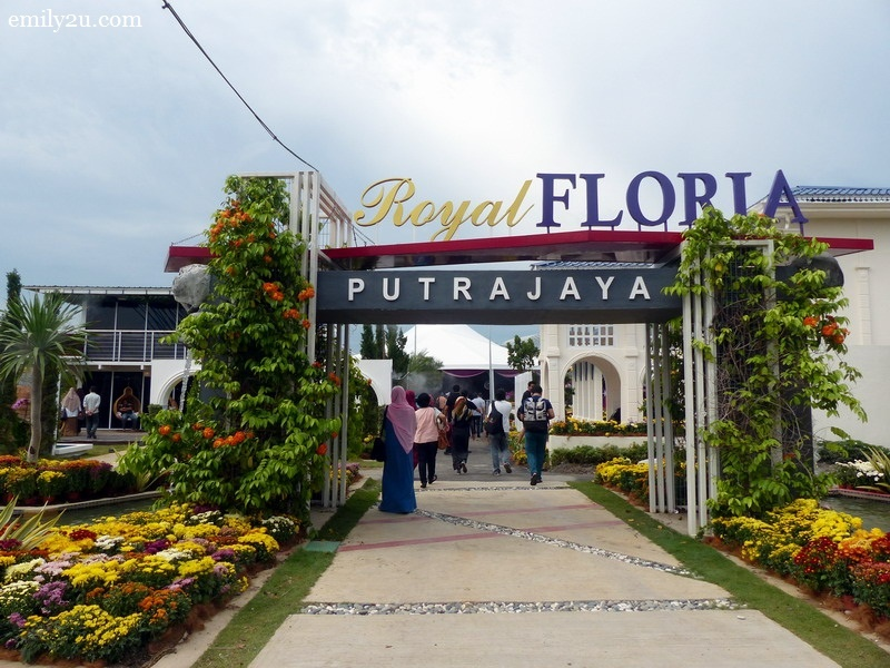 1. Royal FLORIA Putrajaya Flower and Garden Festival