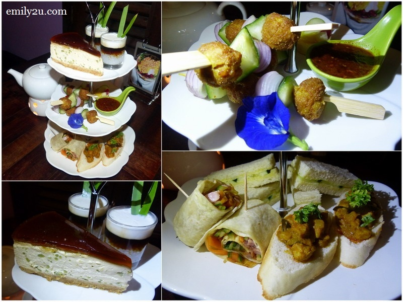 8. Afternoon Tea Set @ RM48 for two - add RM7 for an additional pot of original Sabah tea or coffee