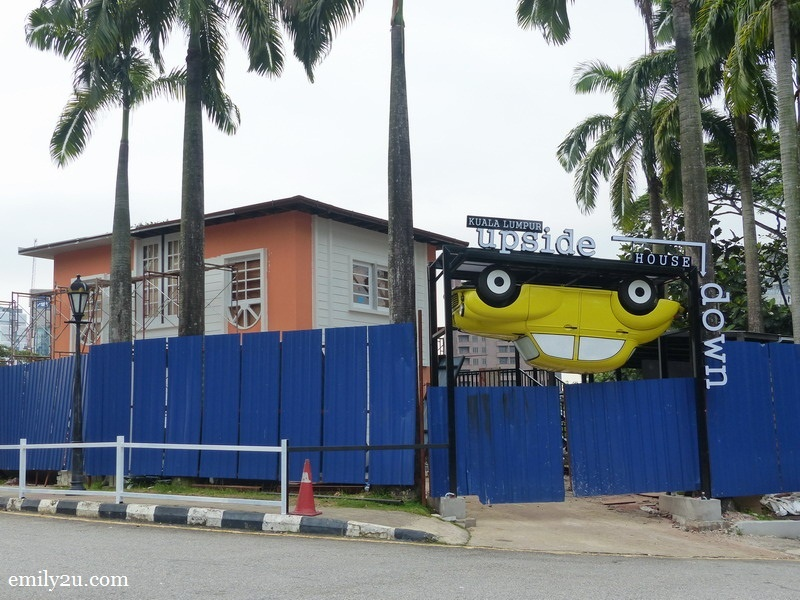 13. Kuala Lumpur Upside Down House